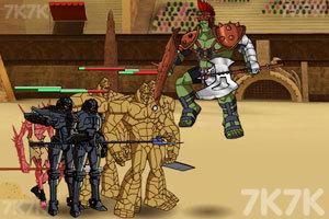 《绿巨人角斗士》游戏画面3