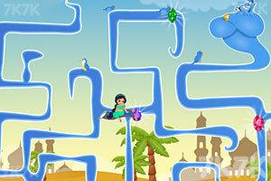 《公主迷宫探险》游戏画面2