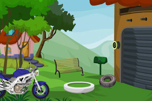 《摩托骑手逃脱》游戏画面1