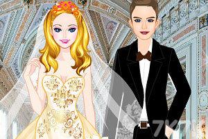 《试穿婚纱》游戏画面3