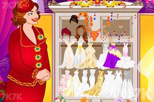 《试穿婚纱》游戏画面1
