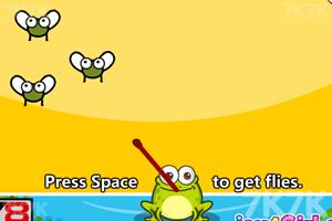 《小青蛙快长大》游戏画面1