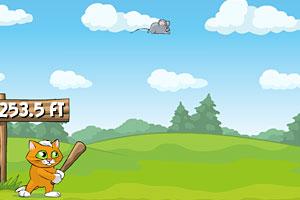 《肥猫的棒球》游戏画面1