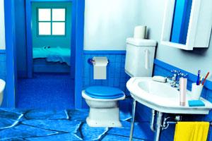 美女的浴室逃脱