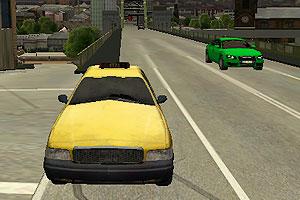 《3D出租车驾驶》游戏画面1