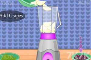 《绿色健康果汁》游戏画面1