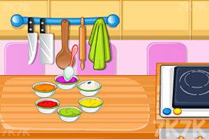 《烤彩虹甜甜圈》游戏画面1