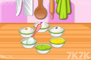 《烤彩虹甜甜圈中文版》截圖5