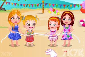 《可爱宝贝的海边派对》游戏画面6