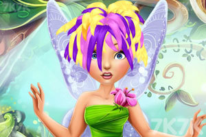 《小精灵的新潮发型》游戏画面1