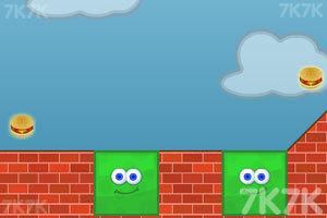 《形状小怪吃汉堡》游戏画面3