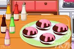 奶油巧克力夹心饼干