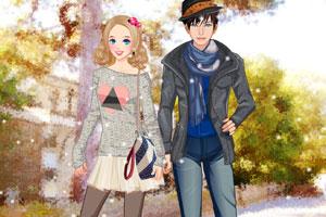 《学生情侣》游戏画面1