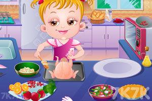 《可爱宝贝家庭晚餐聚会》游戏画面5