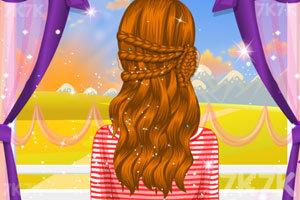 《秋日发型》游戏画面2