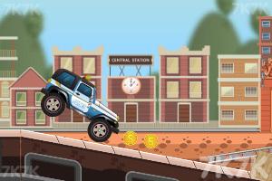 《驾驶警车追小偷》游戏画面2