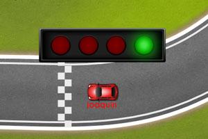 《比赛场地试跑》游戏画面1