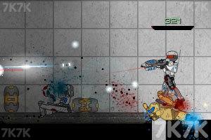 《特种兵之双刃战警升级版》游戏画面2