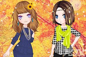 《秋游姐妹花》游戏画面3
