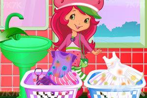 《草莓公主洗衣服》截图3