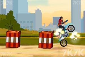 《越野摩托特技赛》游戏画面5