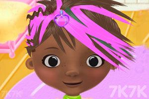 《玩具小医生的梦幻发型》游戏画面2