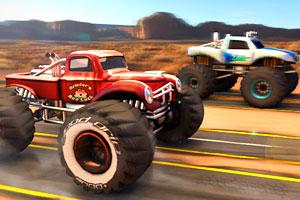 《巨无霸四驱车挑战赛》游戏画面1