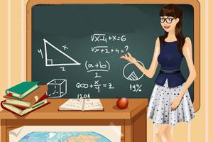 《学校最美的老师》游戏画面1