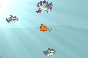 《饥饿的大嘴鱼》截图1
