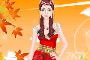 《时尚的民族服饰》游戏画面3