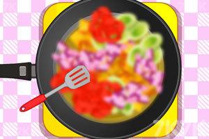 蔬菜鸡肉沙拉