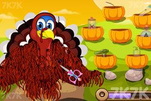 《火鸡先生剃毛》截图2