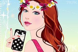 《拿iPhone的女孩》游戏画面1