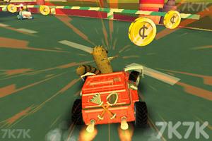 《天兵公园卡丁车赛》游戏画面2