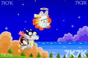 《飞翔的河马无敌版》游戏画面2