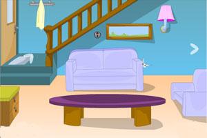 《甜蜜的房子逃脱》游戏画面1