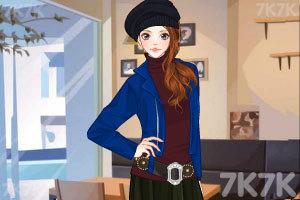《戴帽子的美女》游戏画面3