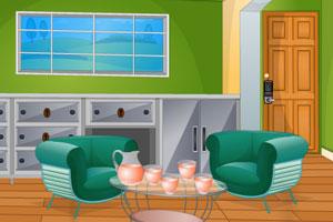 《逃出密码锁房间》游戏画面1