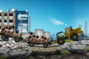《重型工地卡车》游戏画面1