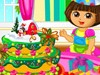 朵拉做圣诞蛋糕