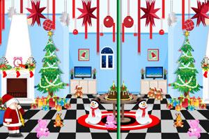 《圣诞节来找茬》游戏画面1