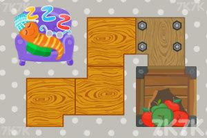 《虫宝宝吃苹果》游戏画面2
