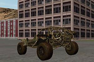 《3D小镇驾驶》游戏画面1