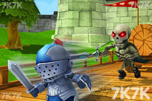 《小小骑士也酷跑无敌版》游戏画面1