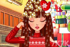《特别的圣诞节发型》游戏画面3