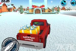 《送圣诞礼物的卡车》游戏画面2