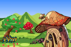 《魔法蘑菇屋逃脱》游戏画面1