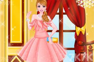 《露肩小礼服》游戏画面2