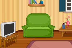 《逃出整洁客厅》游戏画面1