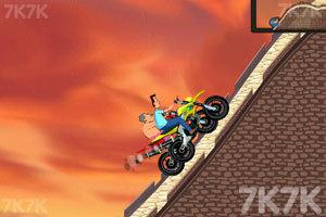 《小头爸爸摩托大赛》游戏画面2